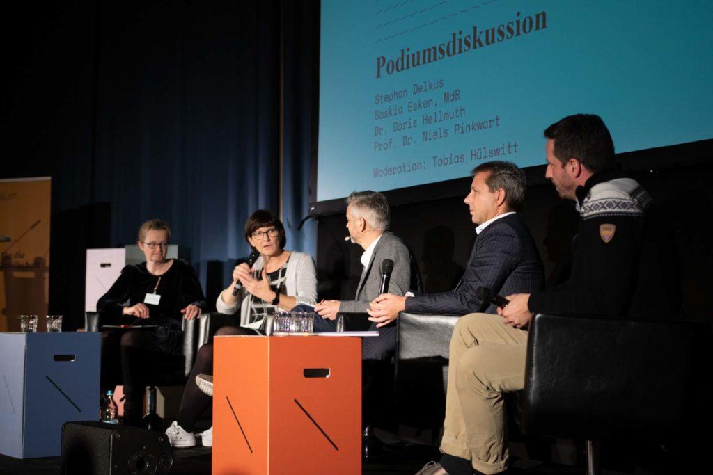 Podiumsdiskussion Saskia Esken